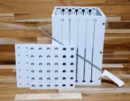 maquina para fazer espetinhos - 36 espetos direto da fabrica