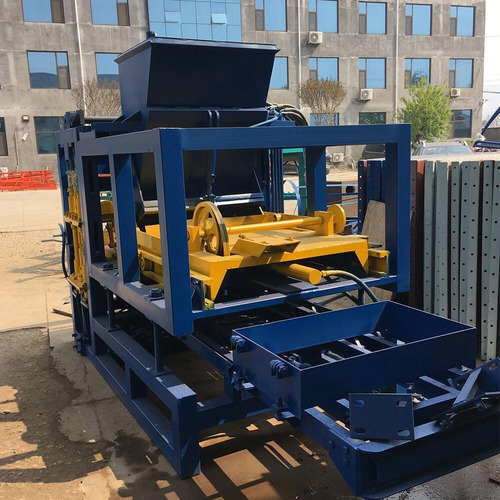 máquina para hacer bloques de cemento (solo contacto)