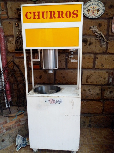 máquina para hacer churros