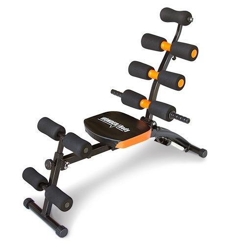 M quina para hacer ejercicios abdominales wonder body for Maquinas de ejercicios