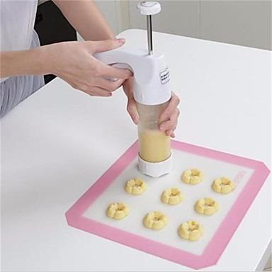 máquina para hacer galletitas y decorar postres