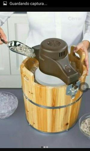 maquina para hacer helado