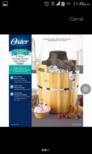 maquina para hacer helado oster