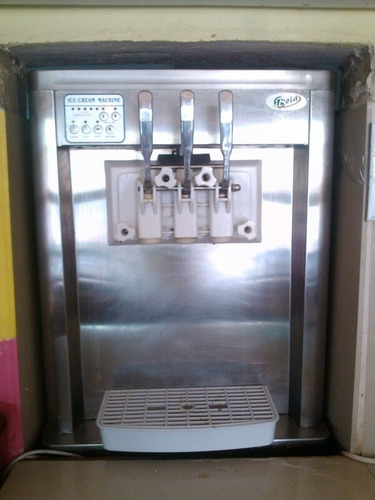 máquina para hacer helados marca boia barquillera soft hel