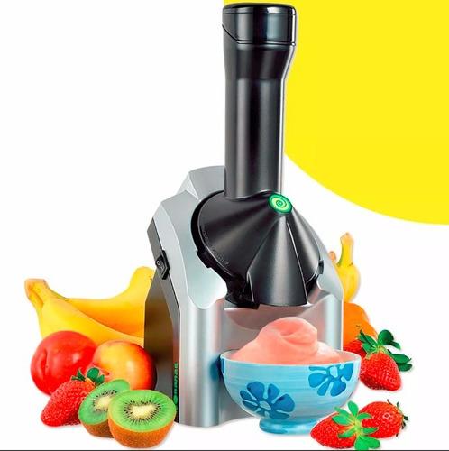 maquina para hacer helados saludables yonanas frutas