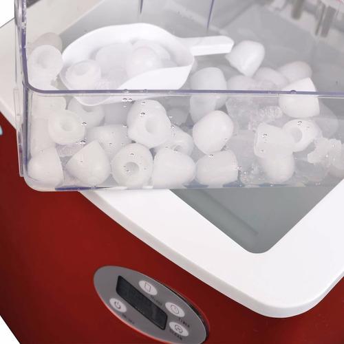 máquina para hacer hielo 50 libras newair ai-215r acero inox