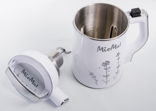 máquina para hacer leches vegetales miomat roja