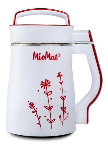máquina para hacer leches vegetales miomat roja