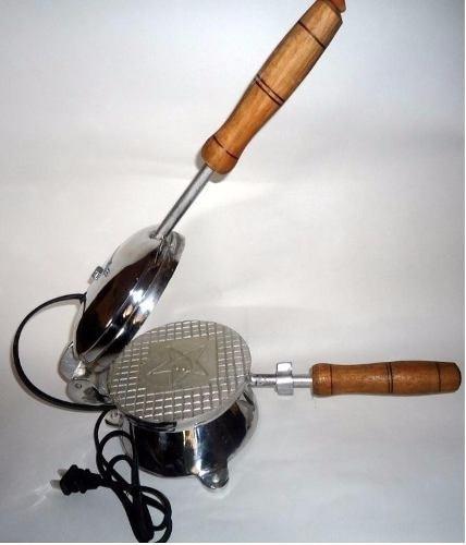 maquina para hacer obleas - oblearia elaborada en aluminio.