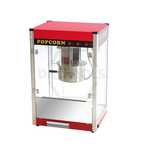 máquina para hacer palomitas 12oz acero inoxidable