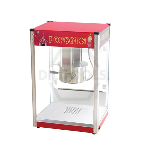máquina para hacer palomitas 16oz acero inoxidable de lujo