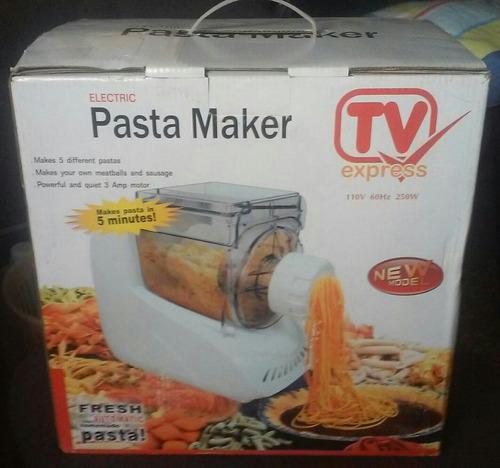 maquina para hacer pasta, espagueti, churros, electrica