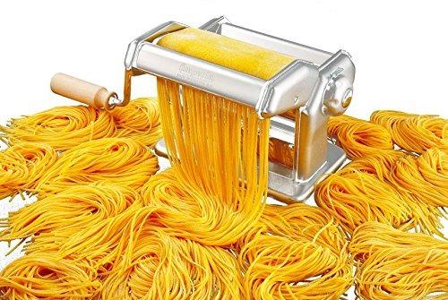 maquina para hacer pasta imperia por cucina pro de acero