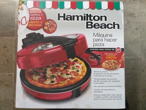maquina para hacer pizza hamilton beach