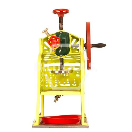 Maquina para hacer raspados tradicional uso manual for Equipo manual de cocina