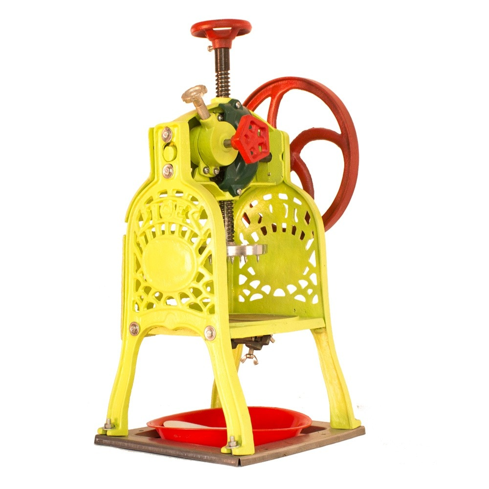 Maquina para hacer raspados tradicional uso manual for Manual para hacer muebles
