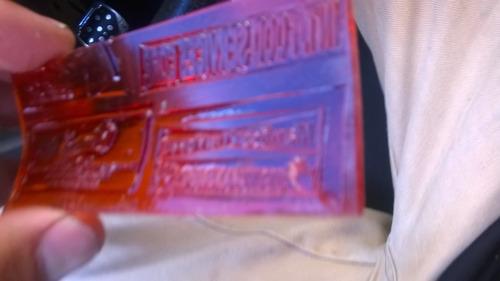 maquina para hacer sellos de caucho y sirel