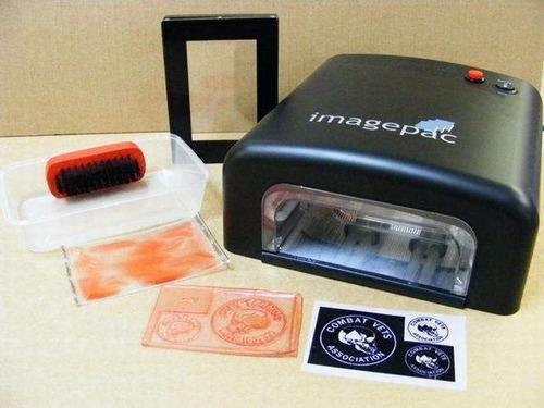 maquina para hacer sellos  + kit + combo de 30 sellos shiny
