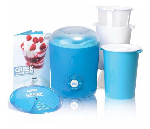 máquina para hacer yogurt griego dash con pantalla lcd ...