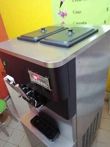 maquina para helado suave