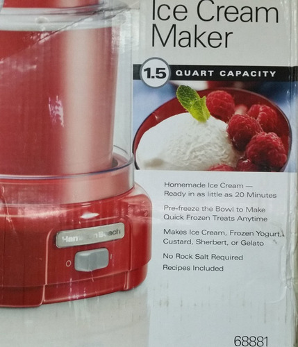 máquina para helados yogurt sorbetes promocioneslafamilia