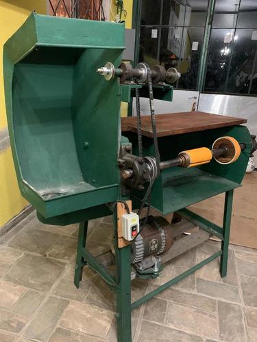 máquina para lijar y pulir