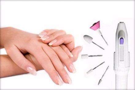 máquina para limar pulir uñas  manicure y pedicure callos