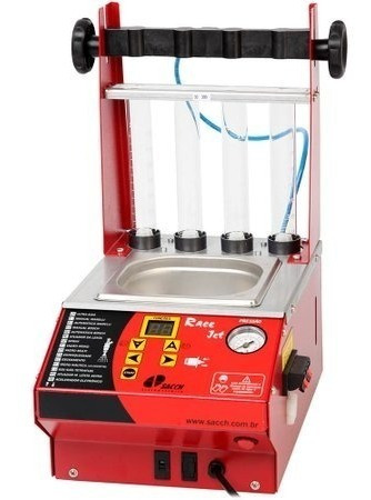 máquina para limpar bicos com ultrason e testes de injetores