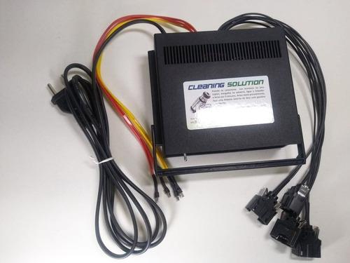máquina para limpeza e teste de bicos injetores (carro-moto)