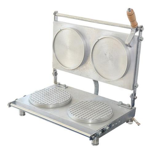 maquina para obleas x 2 con control digital de temperatura