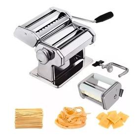 Máquina Para Pasta Ravioles Y Tallarines Manual Acero Inox