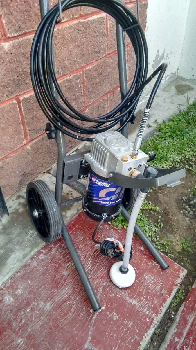 Maquina para pintar airless campbell ps231 7 en - Maquinas para pintar ...