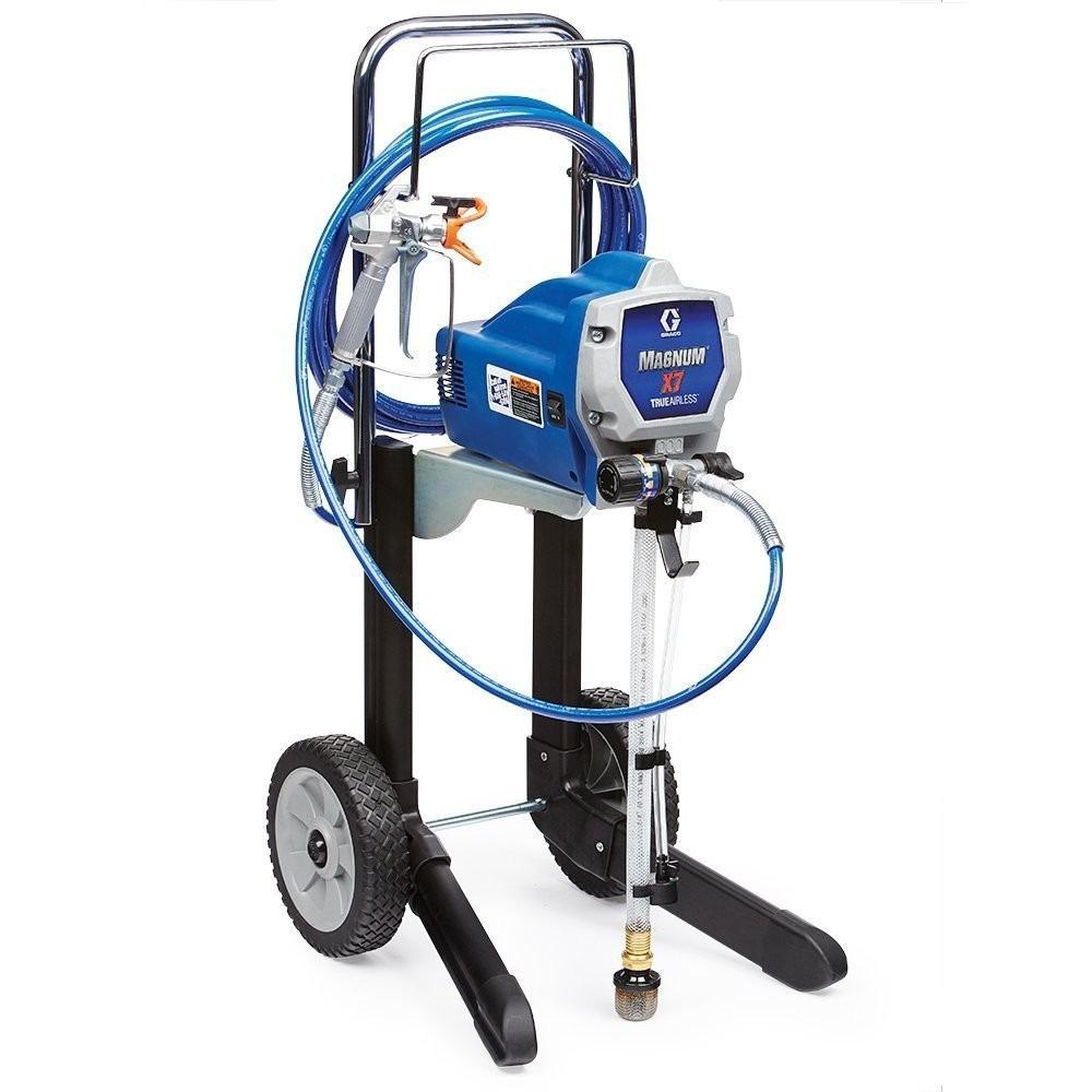 Maquina para pintar graco magnum 262805 x7 hiboy cart - Maquinas para pintar ...