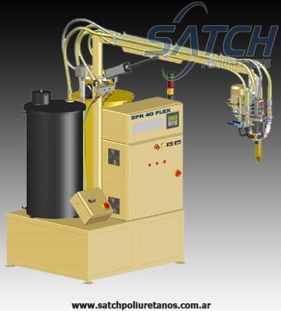 maquina para poliuretano satch - nuevas - service oficial