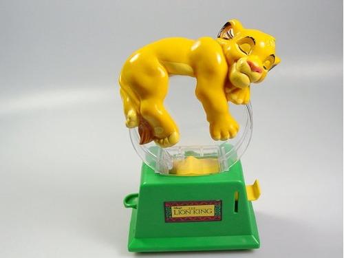 maquina para poner caramelos simba de el rey leon disney usa