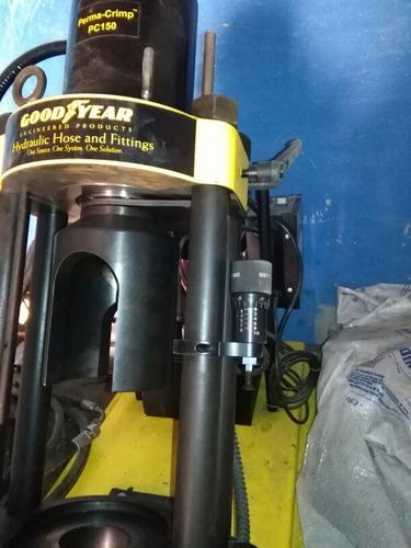 maquina para prensar mangueras hidraulicas