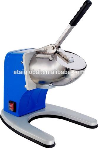 maquina para raspados y cholados doble cuchilla