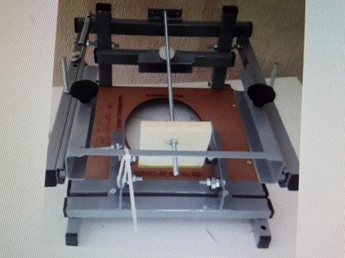 máquina para silk screen