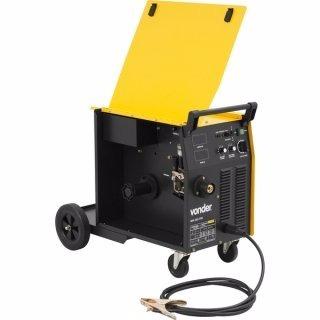 máquina para solda mig/ mag mm 255 trifásica vonder