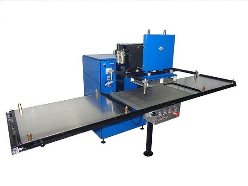 máquina para soldar por alta frecuencia para telas plasticas