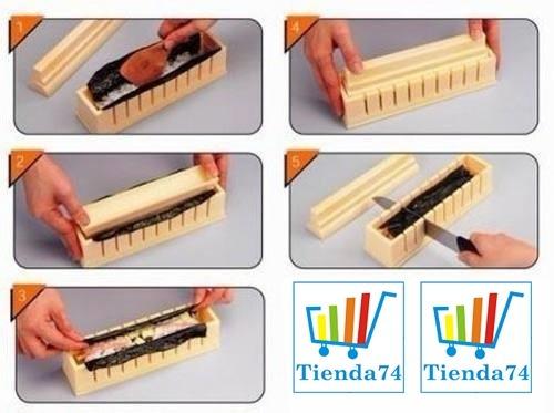 maquina para sushi 10 piezas