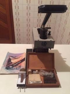 máquina para tampografia compacta oscar flues (pouco uso)