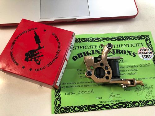 maquina para tatuar micky sharpz microdial original, lineas