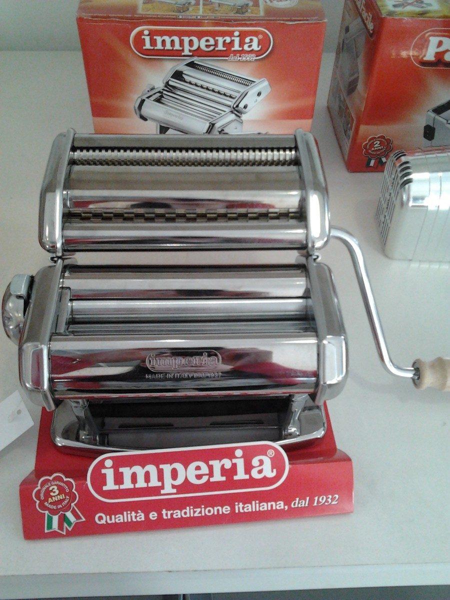 Maquina pastas caseras manual o el ctrica ipasta imperia - Maquina para hacer pastas caseras ...