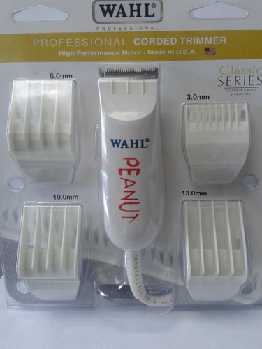 maquina patillera wahl peanut 100% original