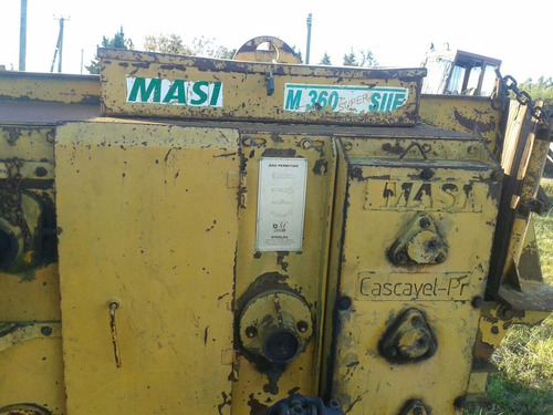 maquina peladora de palos massi m360 super vendo o permuto