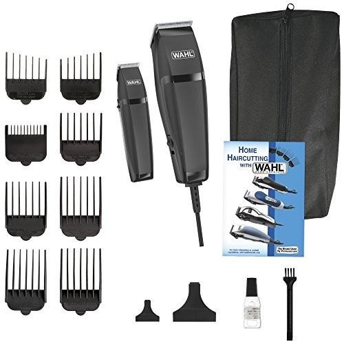 maquina peluqueria wahl combo pro cortadora patillera 14pcs