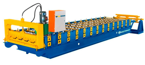 máquina perfiladora de teja de acero macformer