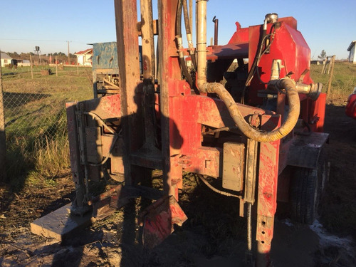 maquina perforadora pozo profundo