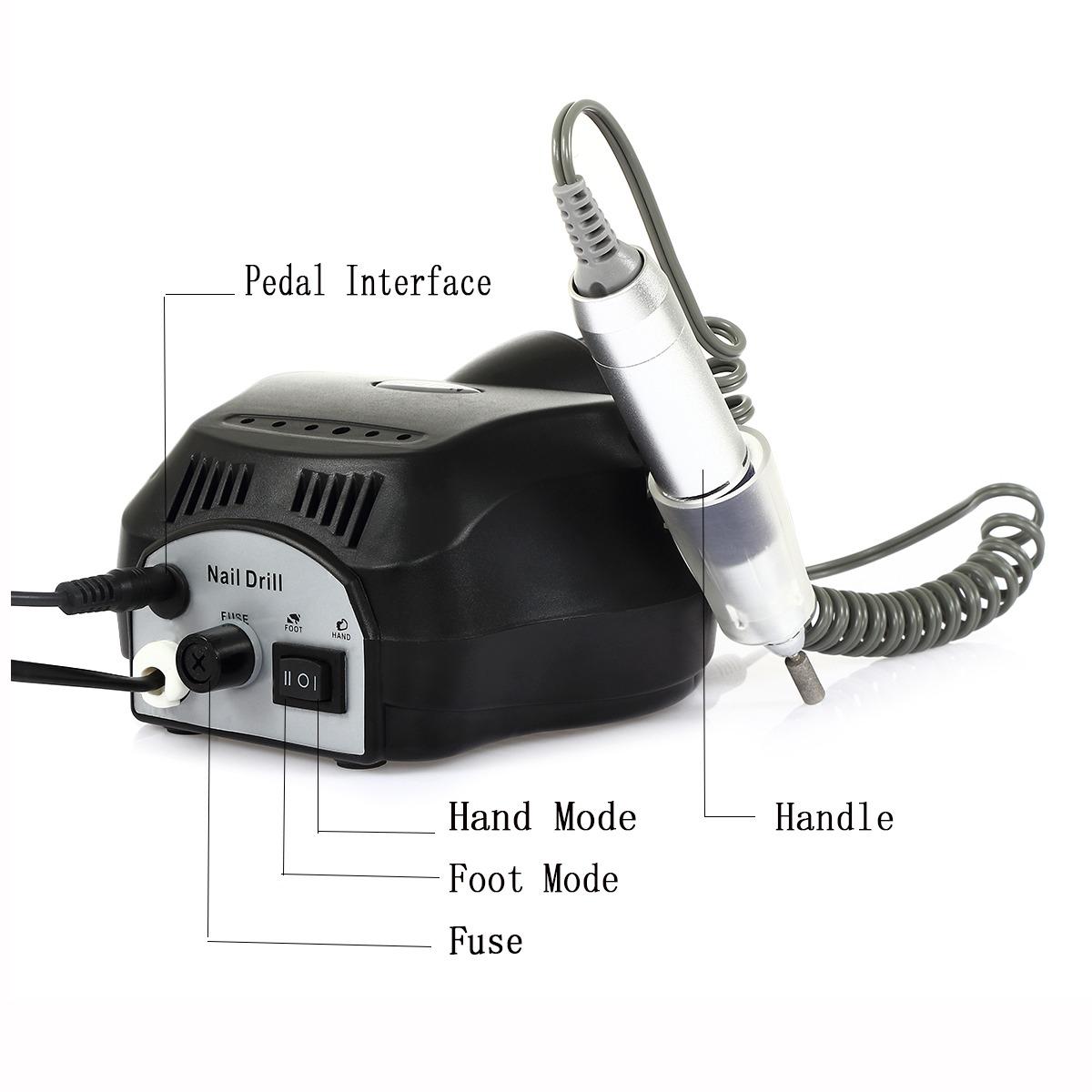 Máquina Perforadora Pulidora De Uñas Eléctrica - $ 1,476.63 en ...
